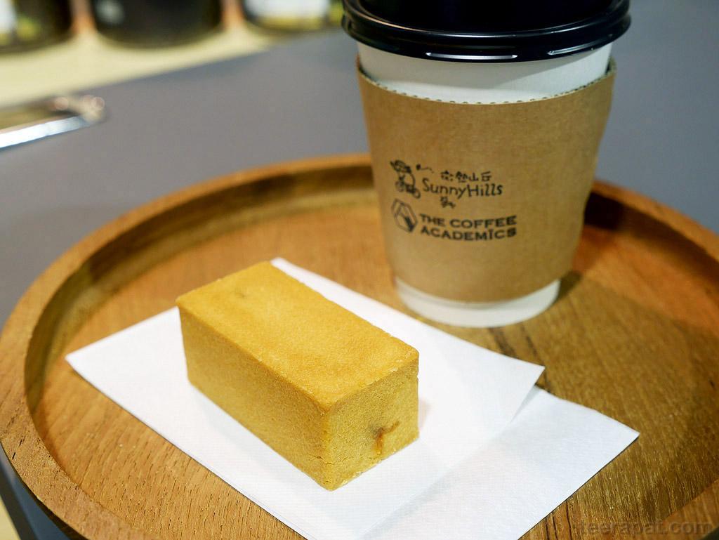 พักกินขนมและกาแฟ