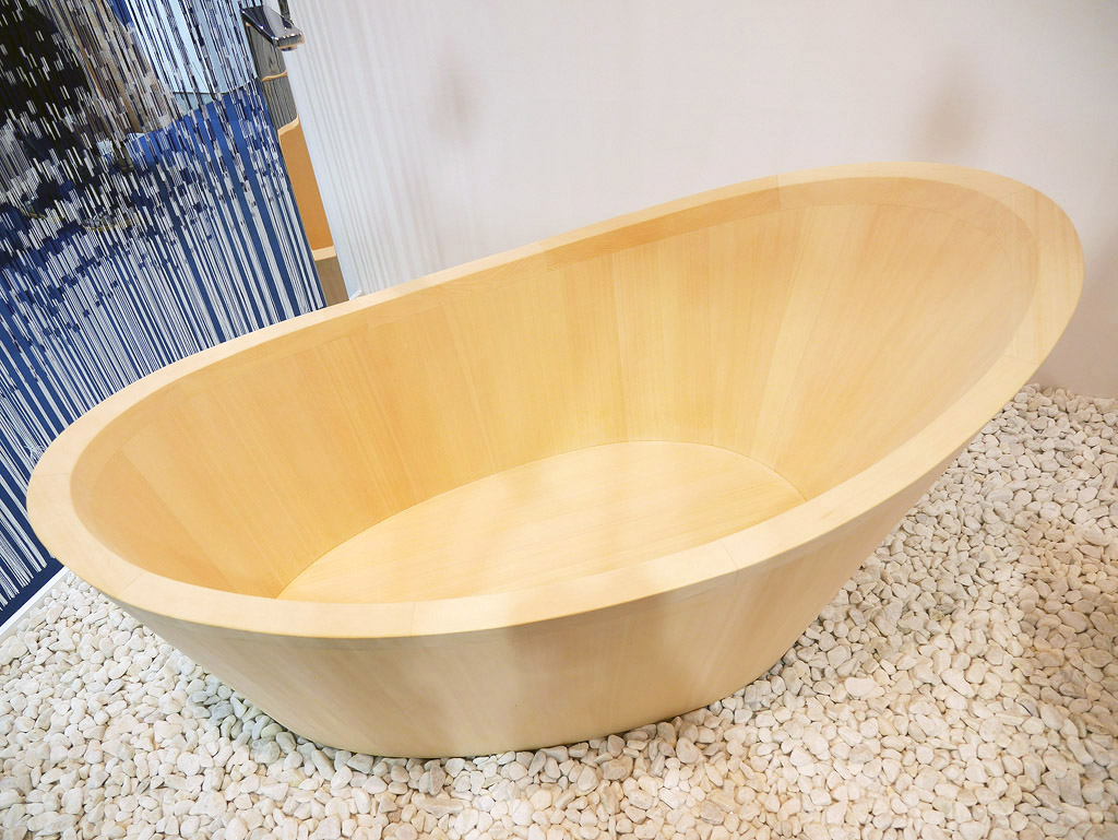 อันนี้เจ๋งเป็นอ่างอาบน้ำไม้