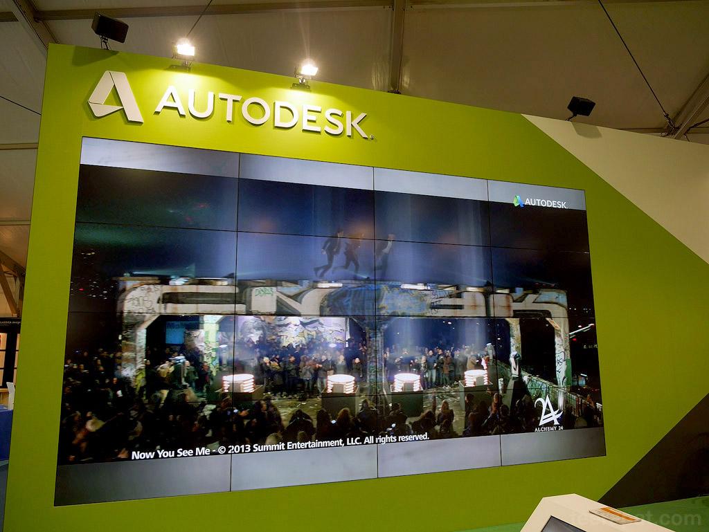 เริ่มเป็นโซนของบริษัทสปอนเซอร์ Autodesk เจ้าใหญ่
