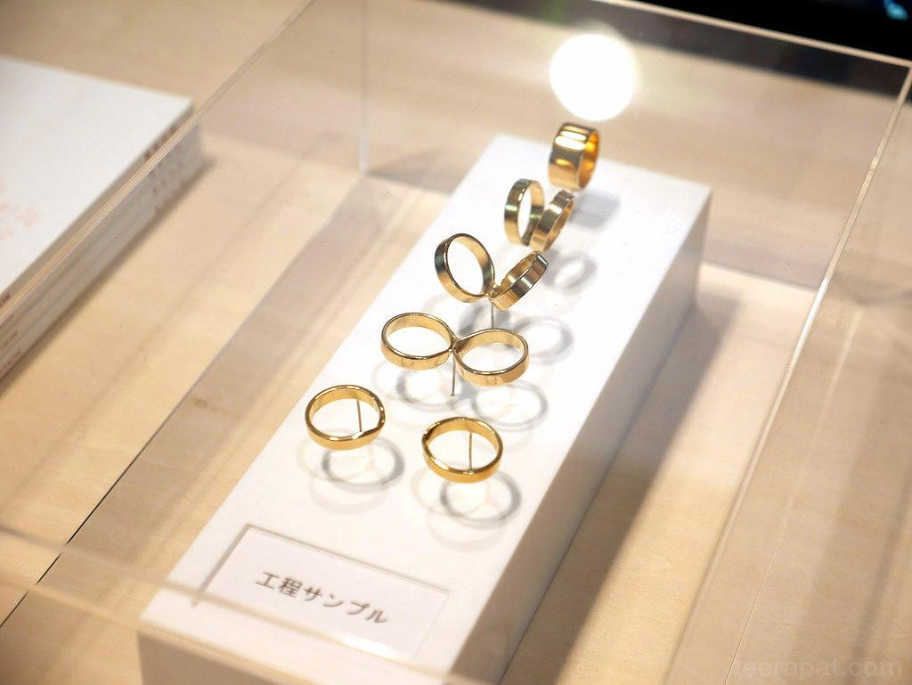 อีกหนึ่งรางวัล Good Design เป็นแหวนที่แยกด้วยด้วยการฉีก